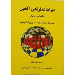 میراث شطرنجی آلخین : زندگینامه - تئوری گشایش ها