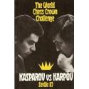 کتاب The World Chess Crown Challenge Kasparov vs Karpov Seville Chess Library 87